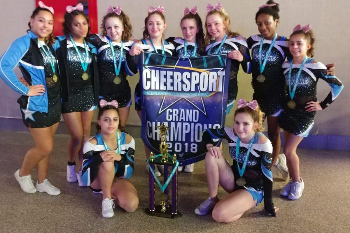 CheerSport Grand Champions of 2018!